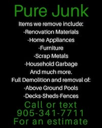 Junk Removal Service St. Catharines