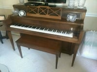 Everett upright piano with bench Hoffman Estates
