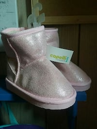 pair of new pink Capelli boots Muscatine, 52761