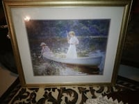 Beautiful large vintage water color like picture  Broomfield