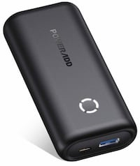 Brand new 10000mAh Power Bank Compatible for iPhone, Samsung Galaxy