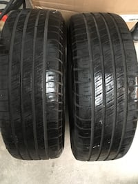 Two Michelin Winter Tires 195/65/15 Laval, H7P