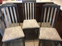 Three new chairs $40 a piece  Emmitsburg, 21727