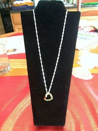 "30"" Sterling Silver ""Diamond Twist"" Style Necklace"