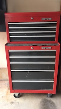 Craftsman rolling tool cabinet and chest set  Frederick, 21701