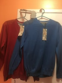Point Zero sweaters for Men..Sizes LX,L,M,S....$15each NEW  Mississauga, L4T 3T6
