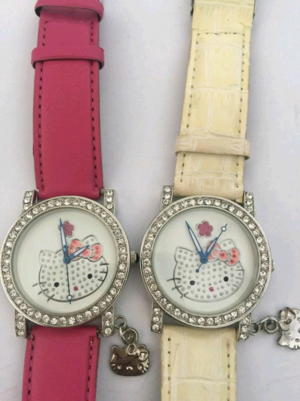 Hello kitty round watches 2 on sale