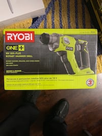 RYOBI ONE+ 18v SDS- PLUS ROTARY HAMMER DRILL (TOOL ONLY ) Oakland, 94601