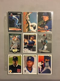 50 assorted sports cards