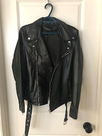 Genuine Leather Jacket - Women's
