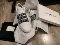Givenchy  White & Black Webbing Urban Sneakers Burnaby