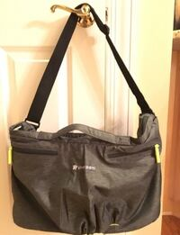 NEW SHERPANI Force Black Gray Yoga Gym Duffle Tote Cross body Bag Chicago, 60611