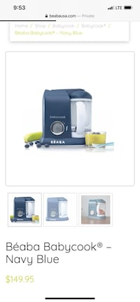 Beaba  baby steam cooker and blender. Worcester, 01603