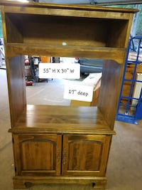 wood tv stand/or many options Thurmont