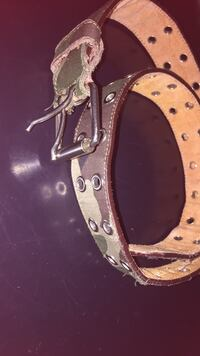 Clearance!! Genuine leather camouflage belt Mississauga, L4X 2C8