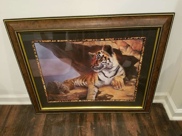 Home Interior Gifts Tiger Picture