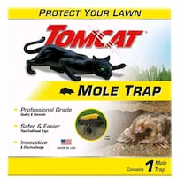 Tomcat Mole Trap Protect Your Lawn With a Safe & Easy Trap Effectively Chicago, 60609