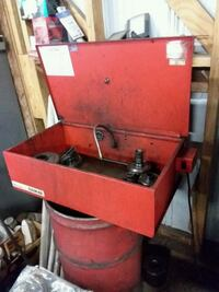 red and black tool chest Leland, 28451