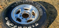 4 Ford F250 Wheels with tires 2336 mi