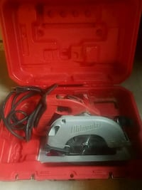 Milwaukee 15A circular saw with case Chicago, 60607