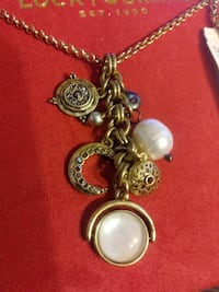 Lucky brand necklace, new w tags ($39)