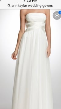 Ann Taylor wedding dress new with tag!never been worn classic,simple Woodbridge, 22193