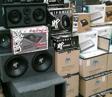 AMPLIFIERS + SUBWOOFERS