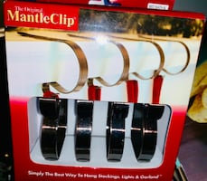 Mantle Clips for Hanging Stickings