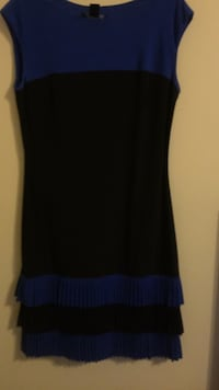 women's black and blue sleeveless dress Alexandria, 22306
