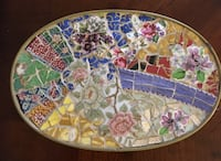 Beautiful Mosaic Hot Plate Holder Stand  Bedford, 76022