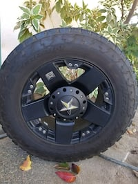 18in tire and rims text for more info