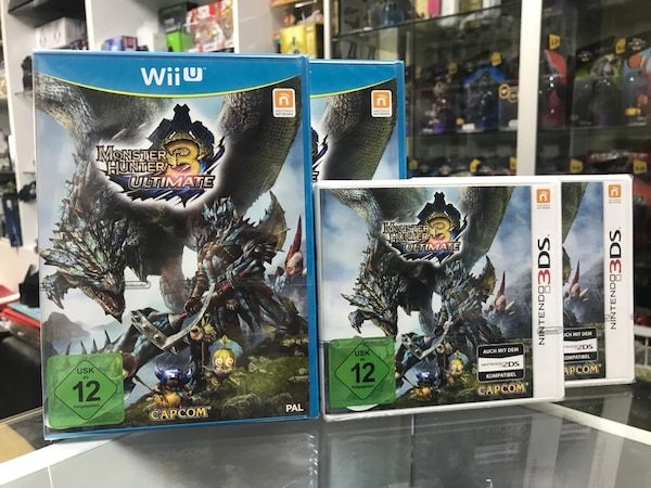 Wiiu 3ds Monster Hunter 3