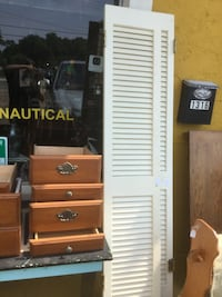 Project drawers $10 to $20 each.  Shutters $30 each Ocean Springs, 39564