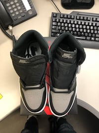 "Air Jordan 1s "" Shadow"". Size 9.5 and 10 brand new"