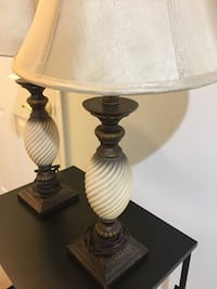 2 Beautiful Lamps!! Sterling, 20164
