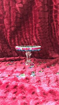 Colorful Gemstone Candle Holder (Handmade) Pikesville, 21208