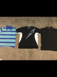 Boys size 8-10 Polo and Puma Tops all for $15 Milton