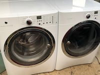 white front-load clothes washer and dryer set Camarillo, 93010