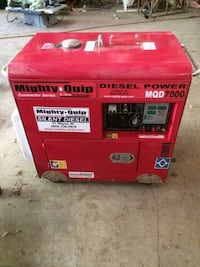 red and black Lincoln Electric welding machine HERNDON