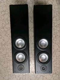 Two MTS tower speakers Toronto, M4A 2E4