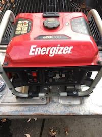 red and black Energizer portable generator 551 km