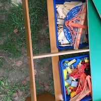 Train table w/ storage bins, tracks and trains Rock Hill, 29730