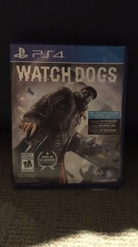 Watch Dogs PS4 game case Mississauga, L5J 1B9