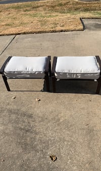 Pair of outdoor ottomans Toms River, 08757