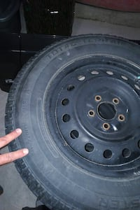 215/70/16 winter tire and rims
