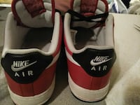 pair of red-and-white Nike sneakers Beaverton, 97005