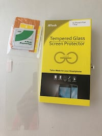 Tempered glass screen protector for IPhone 7/8 plus. Never used Vaughan, L4J 0H2