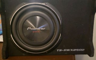 "Pioneer 10"" shallow mount sub mint condition sounds great"