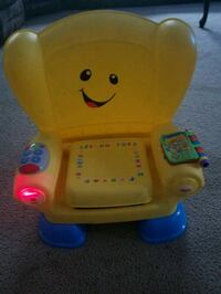 yellow Fisher-Price laugh and learn smart stages c 796 mi