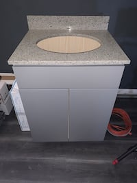 Brand new vanity and granite x sink  Portland, 97202